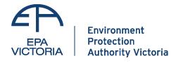 EPA Victoria – Australia